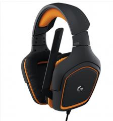 罗技(G)G231 有线游戏耳机麦克风 电脑电竞耳机耳麦 头戴式 吃鸡耳机