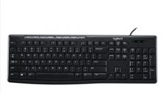 罗技(Logitech)K200 键盘 有线键盘 办公键盘 全尺寸 黑色 自营 U口