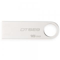 金士顿优盘16G DTSE9 16G 金属 银色   2.0 se9