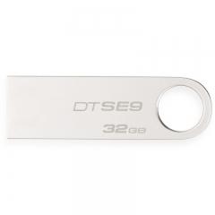 金士顿优盘32G DTSE9  金属U盘 银色  USB 2.0