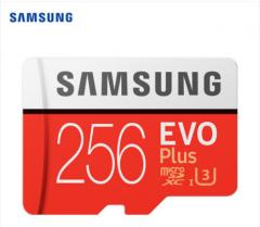 三星内存卡256GB UHS-1 Class10 TF 存储卡90Mb/s   4K