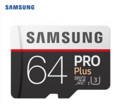 三星(SAMSUNG)64GB TF(MicroSD)存储卡 U1 4K