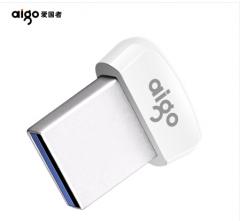 爱国者(aigo)16GB USB3.1 高速读写U盘 U2 车载U盘 白色