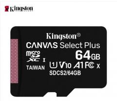 金士顿(Kingston)TF卡64GB读速100MB/s