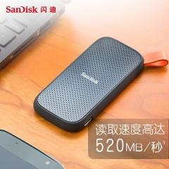 闪迪(SanDisk)1TB Type-c E30移动硬盘 固态(PSSD)极速移动版