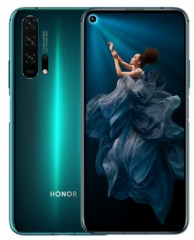 华为HONOR荣耀20 PRO DXO全球第二高分30倍数字变焦四摄游戏全面屏手机 蓝水翡翠 128G 8G 全网通