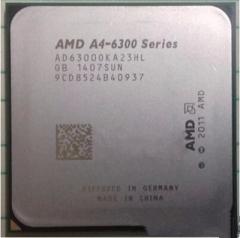 AMD A6 6300 (散片)CPU 双核APU FM2接口3.7G集显HD8370D秒5300