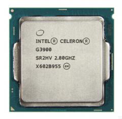 英特尔(Intel)赛扬双核 G3900(散片) 1151接口  拆机
