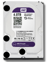 西部数据/WD 西数紫盘4TB监控台式机电脑DVR录相机4T机械硬盘