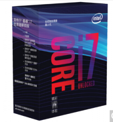 英特尔(Intel) i7 8700 酷睿六核 盒装CPU处理器