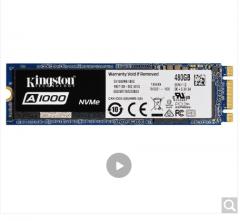 金士顿(Kingston) A1000系列 480G M.2 NVMe SSD固态硬盘