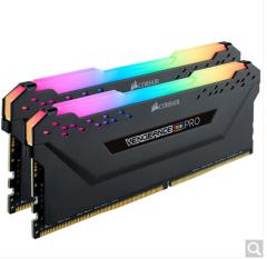 美商海盗船(USCORSAIR)DDR4 3600 16GB 台式机内存条 RGB套装(8*2)