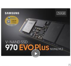 三星(SAMSUNG)250GB M.2接口(NVMe协议) 970 EVO Plus