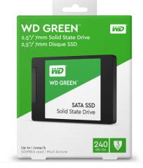 西部数据(WD)240GB SSD固态硬盘 SATA3.0接口 Green系列-SSD日常家用普及版