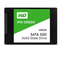 西部数据(WD)480GB SSD固态硬盘 SATA3.0接口 Green系列-SSD日常家用普及版