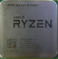 AMD R5-2600散  六核不集成