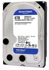 西部数据蓝盘 6TB SATA6Gb/s 5400转256MB 台式机械硬盘