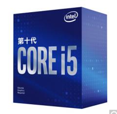 英特尔(Intel)10代 i5-10400F 酷睿六核 盒装CPU处理器 不集成