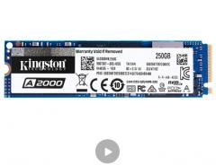 金士顿(Kingston) 250GB SSD固态硬盘 M.2接口(NVMe协议) A2000系列
