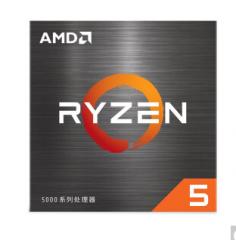 AMD 锐龙5 5600X 处理器(r5)7nm 6核12线程 3.7GHz 65W 盒装CPU