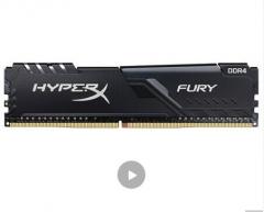 金士顿 (Kingston) 32GB DDR4 3200 台式机内存条 骇客神条 Fury雷电系列