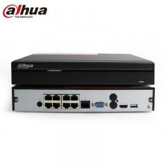 大华DH-NVR2108HS-8P-HD/H 8路监控硬盘录像机 POE