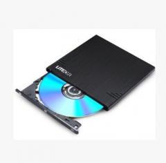 建兴8倍速eBAU108 外置光驱 DVD刻录机 黑色 质保1年