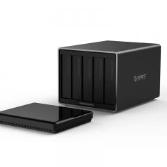 奥睿科(ORICO)NS500U3 五盘位 3.5寸 USB3.0 硬盘柜 SATA3.0串口