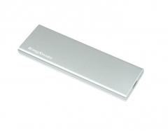 金胜(Kingshare) C3系列 M.2转USB3.0 2280固态移动硬盘盒 银色