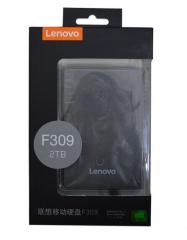 联想F309 移动硬盘usb3.0 高速移动硬盘2TB 2.5寸
