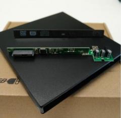 笔记本光驱 转USB光驱 USB2.0  外置光驱盒 12.7MM