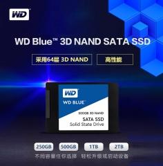 西部数据(WD)250GB SSD固态硬盘 SATA3.0接口 Blue系列