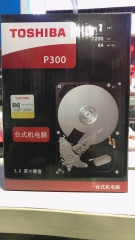 东芝(TOSHIBA)P300  1T 7200转64Msata3台式机硬盘垂直记录技术 1T 盒