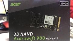 宏碁(Acer) SSD固态硬盘 M.2接口(NVMe协议) 250G