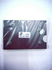 蓝海E线 U201 USB 打印机共享器