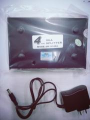 蓝海E线 VGA分配器分屏器 1802  2接口