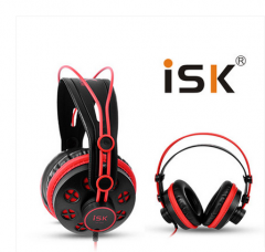 ISK  HP580  监听耳机耳麦【不退不换 正常售后】 红色