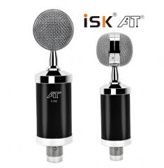 ISK S500 电容麦克风 免电源或48V幻像电源供电【不退不换 正常售后】 黑色