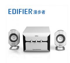 漫步者  E2100  2.1低音炮 【4/件】 白色