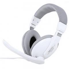 声丽 ST-2628N 头戴式笔记本电脑耳麦 白色
