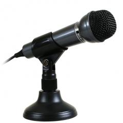 声丽 SM-098 电脑笔记本麦克风话筒 黑色