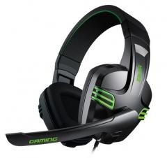 声籁 KX101 电脑专用 头戴式耳机耳麦 黑色
