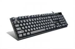 爵蝎 英魂之刃JK106 USB口键盘