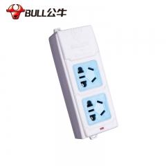 公牛 GN-A02 二孔无线 插座接线板插排 无线