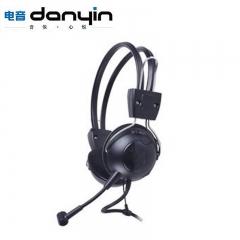 电音耳机/danyin DT-801 电脑耳机【60个/箱】 黑色