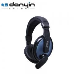 电音耳机/danyin  DT-2102 电脑大耳包【30个/箱】 蓝色