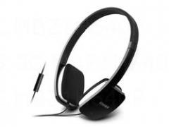 漫步者 H640P 头戴式耳机潮电脑耳麦 手机线控耳机带话筒 黑色