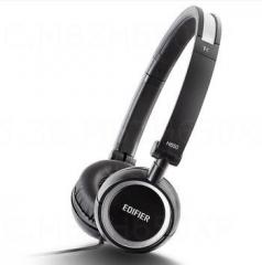 漫步者 H650 耳机头戴式电脑手机重低音乐运动折叠 正品 黑色