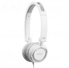 漫步者 H650 耳机头戴式电脑手机重低音乐运动折叠 正品 白色