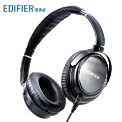 漫步者 H850 头戴式 电脑高保真HIFI重低音监听 潮 耳机